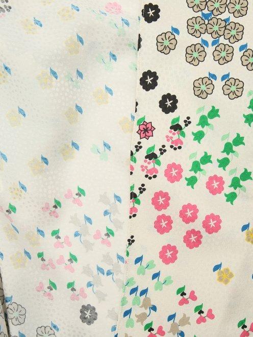 Жакет из смесового шелка в пижамном стиле - Деталь2
