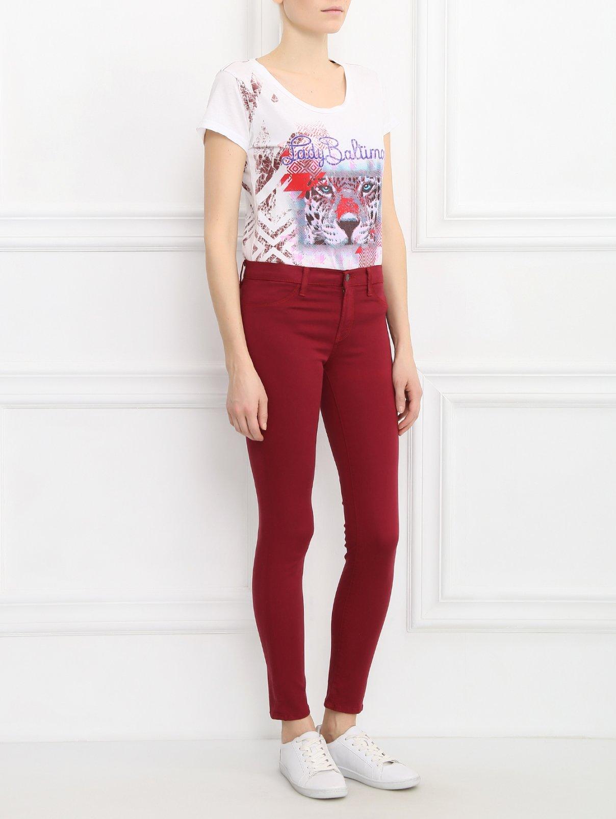 Узкие брюки J Brand  –  Модель Общий вид