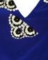 Платье-макси из шелка с аппликацией из пайеток Pianoforte  –  Деталь
