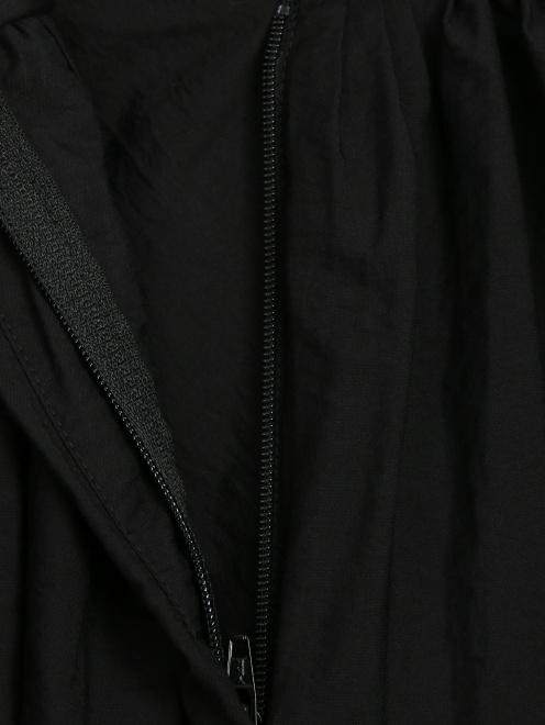 Брюки свободного кроя из жатой ткани - Деталь1