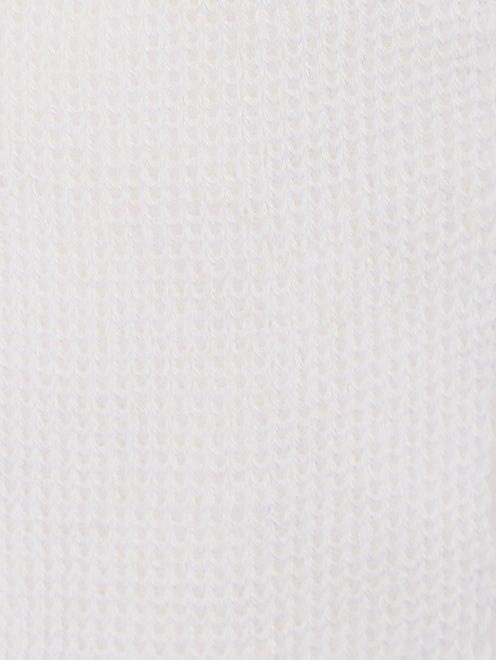 Шапка из хлопка факутрной вязки - Общий вид
