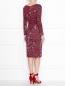 Платье с драпировкой под пояс Max Mara  –  МодельВерхНиз1