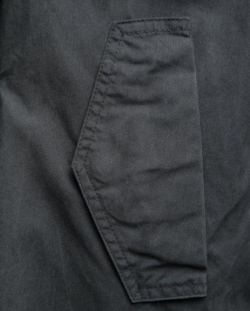 Тренч А-силуэта со скрытой застежкой - Общий вид