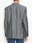 Пиджак из смеси шерсти и льна однобортный Boss  –  МодельВерхНиз1