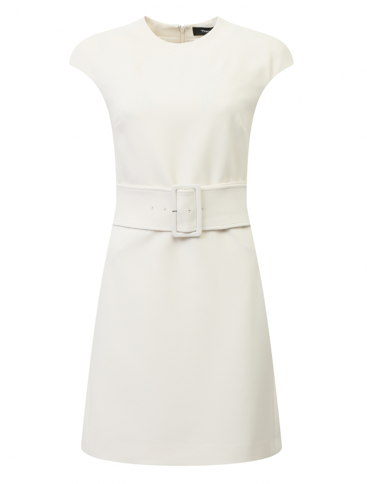 Платье-мини под пояс Theory  –  Общий вид