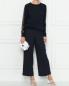Джемпер из вискозы с декором кружевом Nina Ricci  –  МодельОбщийВид