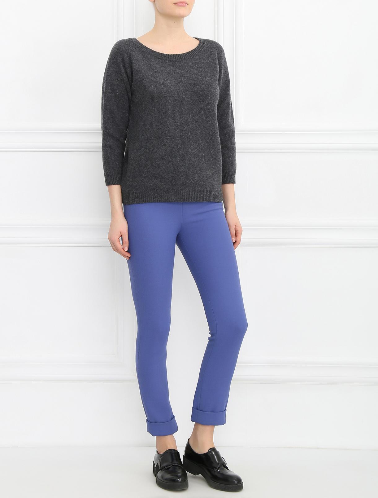 Узкие брюки с подворотами Twisty Parallel Universe  –  Модель Общий вид