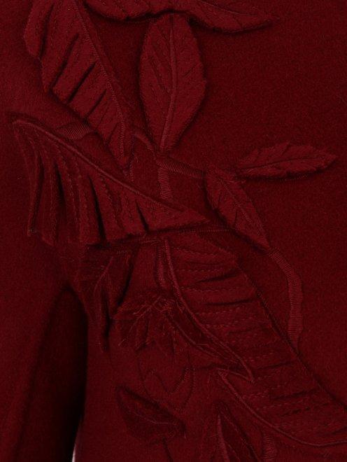 Пальто из шерсти с декором - Деталь