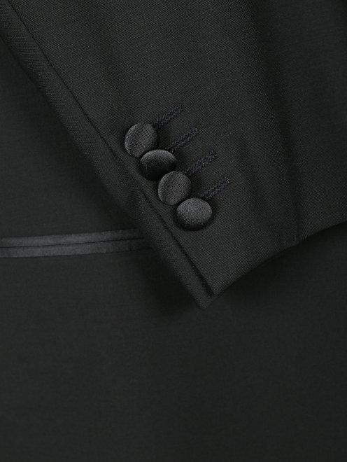 Пиджак однобортный из шерсти - Деталь