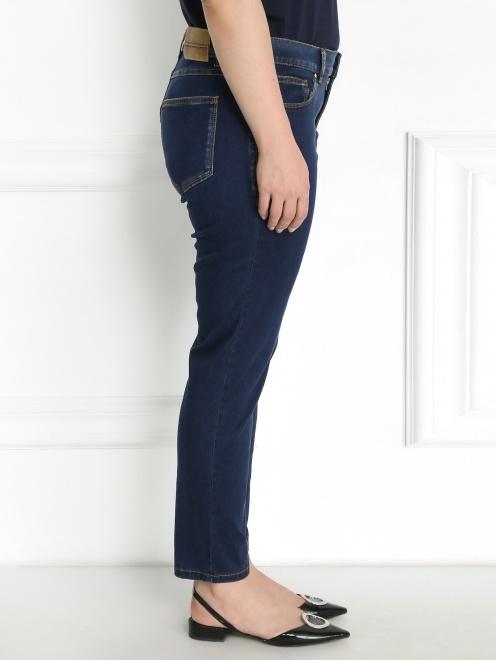 Укороченные джинсы - Модель Верх-Низ2