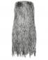 Платье-мини из шелковой бахромы Alberta Ferretti  –  Общий вид