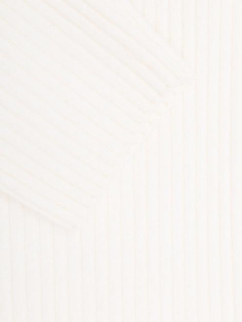 Платье из шерсти и кашемира с поясом  - Деталь1