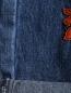 Джинсы прямого кроя с вышивкой Mad Almadal  –  Деталь2
