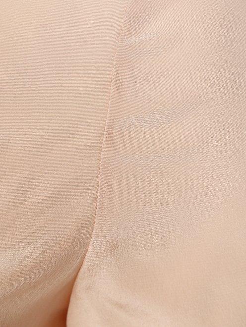 Блуза из шелка с ажурной вышивкой - Деталь1