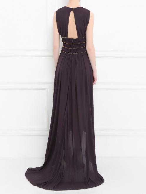 Платье-макси с драпировкой - Модель Верх-Низ1