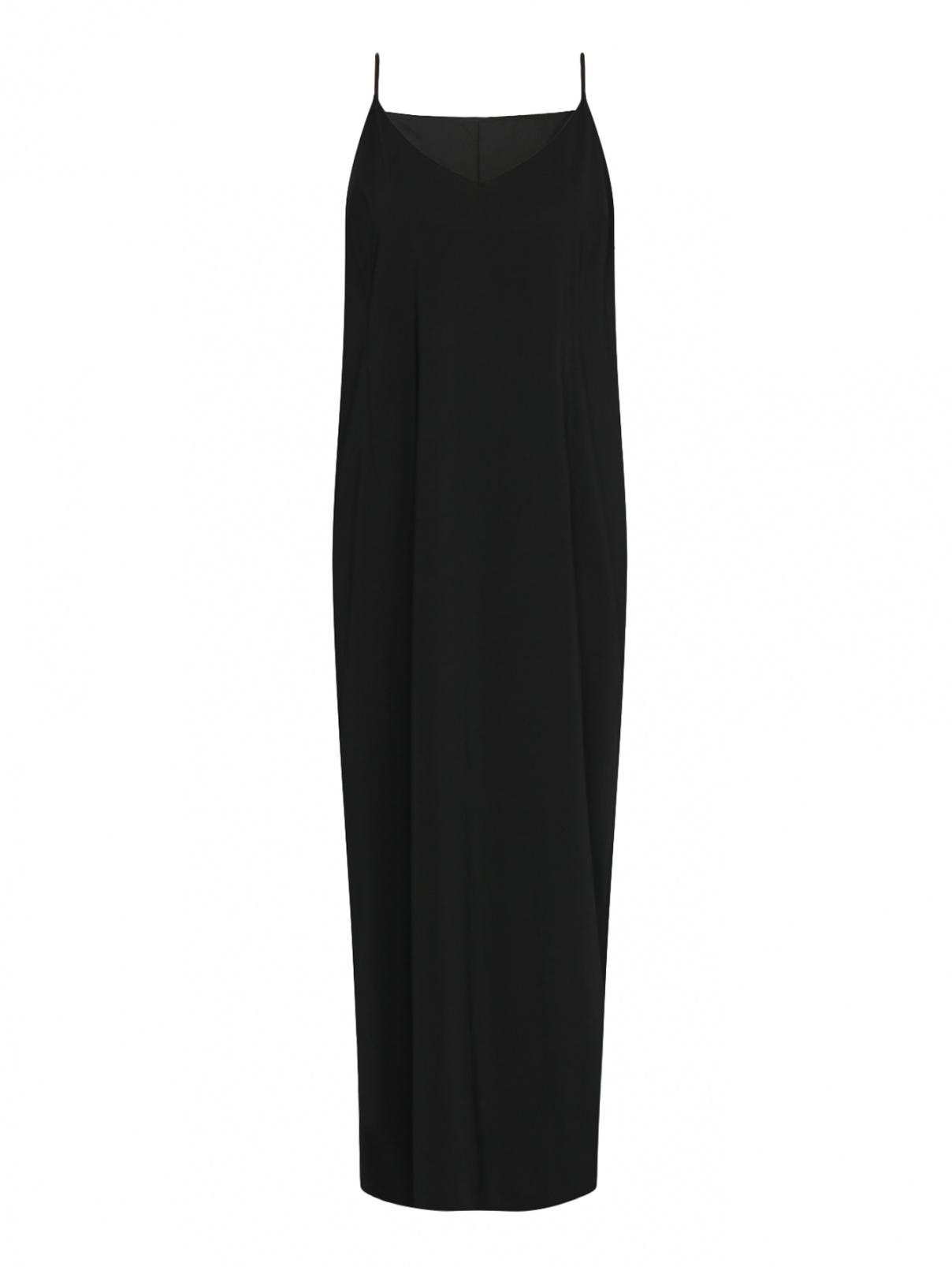 Платье-макси, на бретелях Marina Rinaldi  –  Общий вид