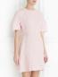Платье-мини с коротким рукавом и декоративной отделкой Giambattista Valli  –  Модель Верх-Низ