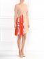Платье ассиметричного кроя с контрастной вставкой MSGM  –  Модель Общий вид