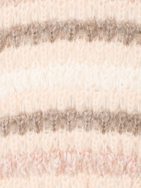 Свитер крупной вязки - Деталь1