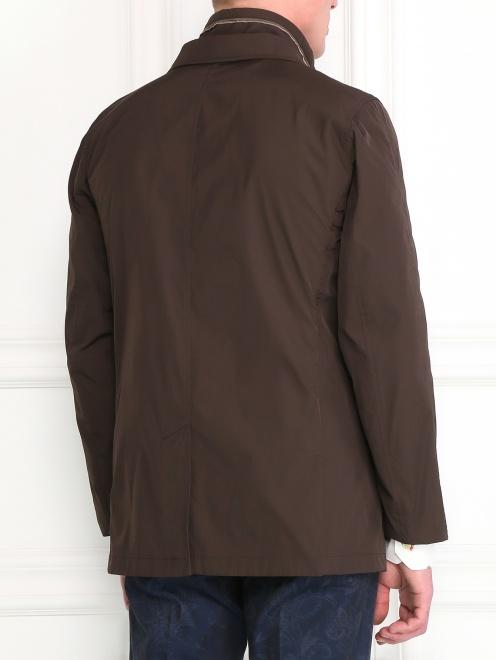 Пиджак с подкладом на молнии - Модель Верх-Низ1