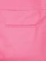 Укороченные брюки из хлопка с боковыми карманами Moschino Cheap&Chic  –  Деталь