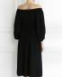 Платье-миди на резинке с защипами Sonia Rykiel  –  Модель Верх-Низ1