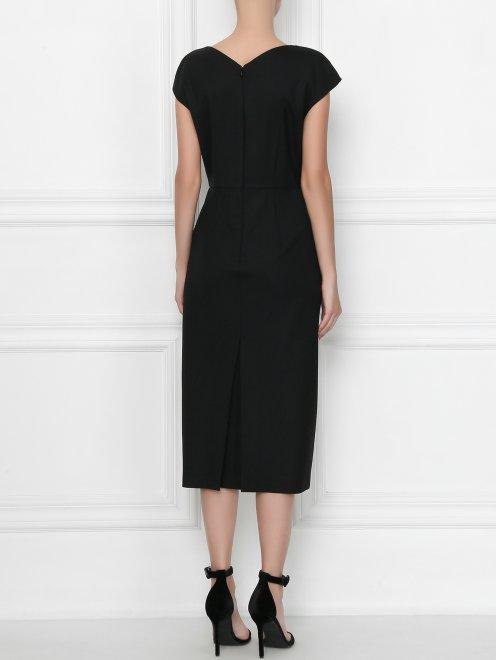 Платье с декором стразами - МодельВерхНиз1