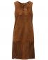 Платье из замши с бахромой Yves Salomon  –  Общий вид
