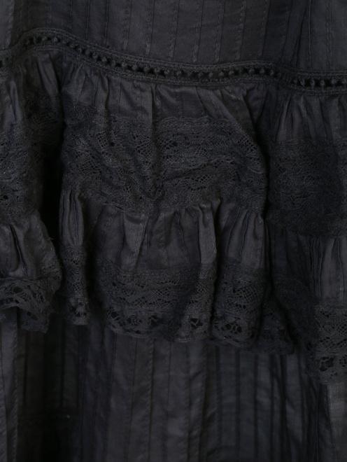 Платье из хлопка с кружевной отделкой - Деталь