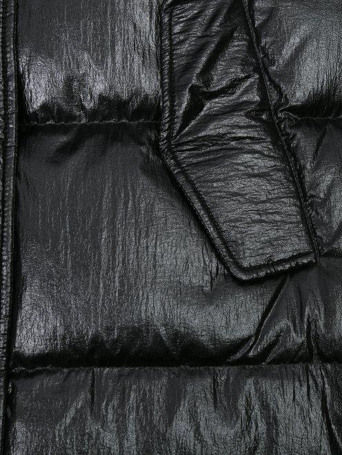 Куртка стеганая с капюшоном - Деталь1