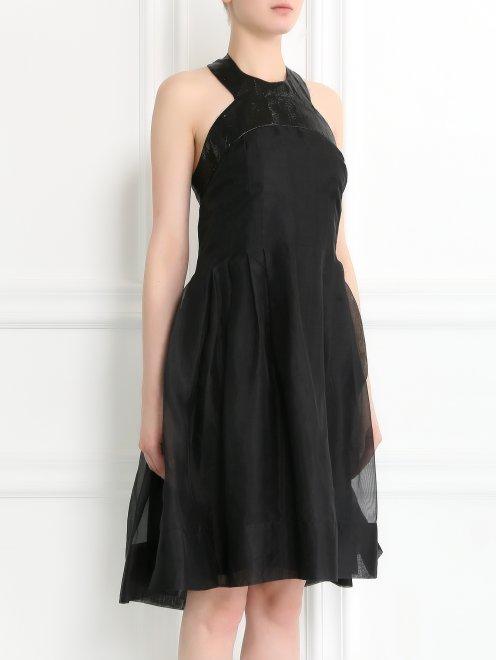 Платье из шелка - Модель Верх-Низ