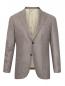Пиджак из шелка и шерсти Borrelli  –  Общий вид