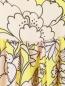 Платье-макси из шелка с цветочным узором MSGM  –  Деталь1