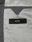 Пиджак из смеси шерсти и льна однобортный Boss  –  Деталь2