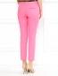 Укороченные брюки из хлопка с боковыми карманами Moschino Cheap&Chic  –  Модель Верх-Низ1
