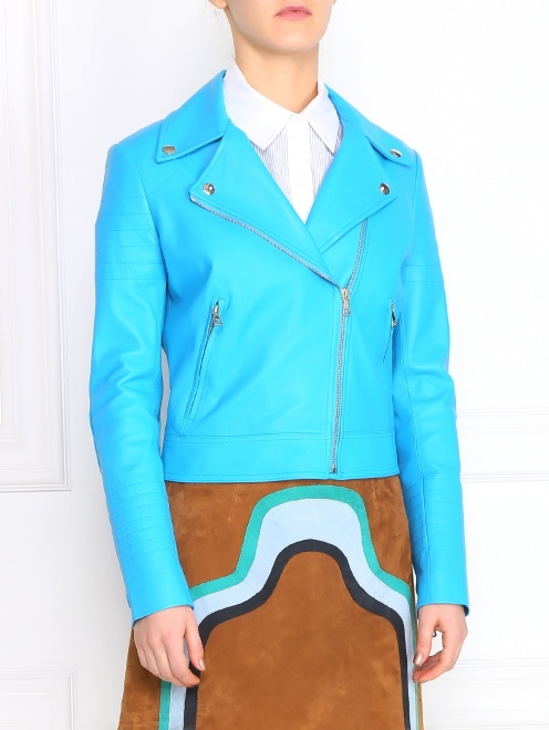 Куртка из кожи - Модель Верх-Низ