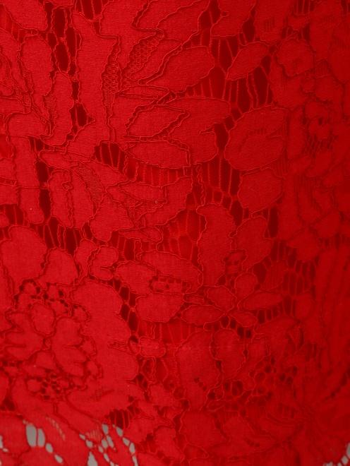 Блуза с кружевным узором - Деталь1