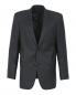 Однобортный пиджак из шерсти и шелка Boss  –  Общий вид