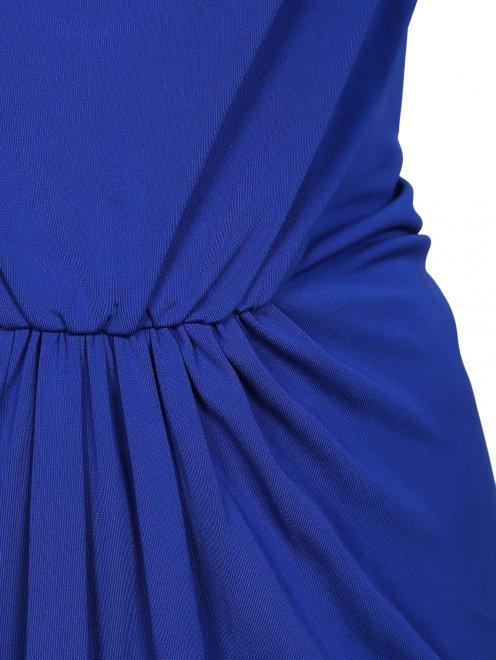 Платье-макси с драпировкой - Деталь