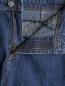 Джинсы прямого кроя с вышивкой Mad Almadal  –  Деталь1