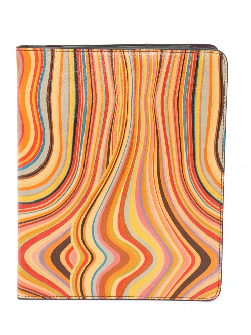 Чехол для iPad из кожи с узором - Общий вид