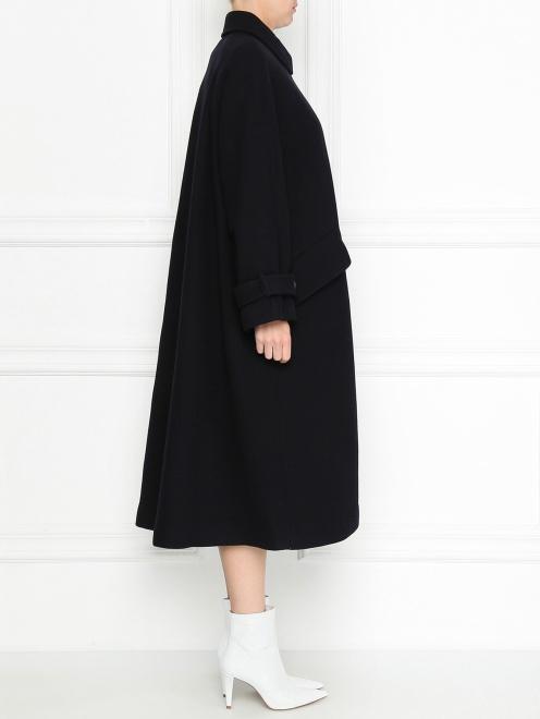 Пальто из шерсти однобортное - МодельВерхНиз2
