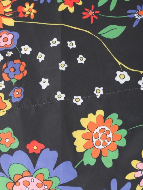 Юбка-миди с цветочным узором - Деталь