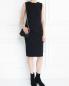 Платье из трикотажа с драпировкой ICEBERG  –  Модель Общий вид