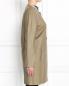 Пальто-трапеция из кожи Yves Salomon  –  Модель Верх-Низ2