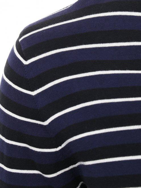 Пуловер из хлопка с узором  - Деталь