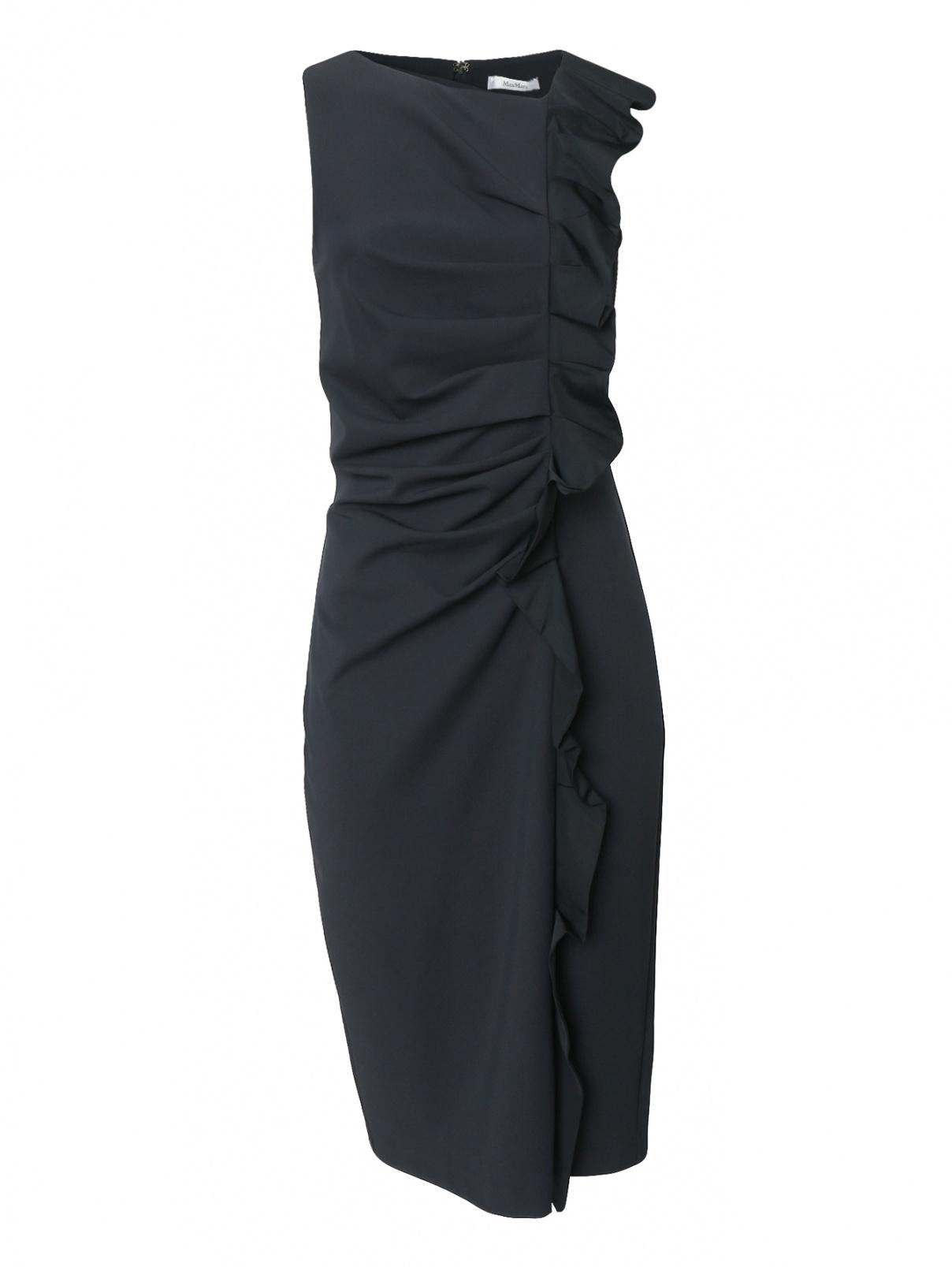 Платье-футляр с драпировкой Max Mara  –  Общий вид