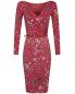Платье с драпировкой под пояс Max Mara  –  Общий вид
