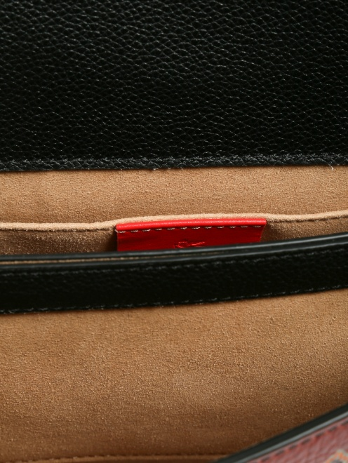 Рюкзак из кожи с узором - Деталь1