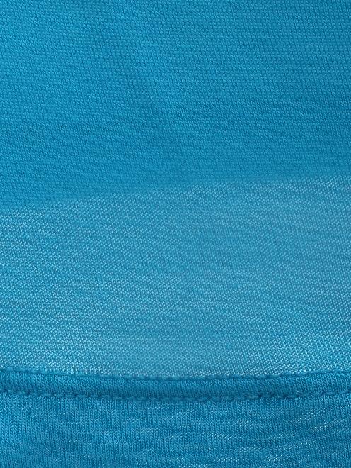 Платье-мини из трикотажа - Деталь1